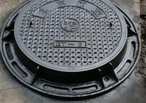 双层球墨铸铁井盖